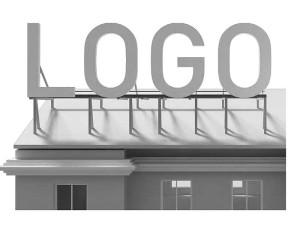 крыша буквы